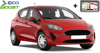 Renault Clio IV TCe / Ford Fiesta + GPS