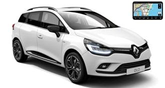 Renault Clio IV GrandTour + GPS