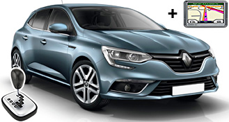 Renault Megane + GPS