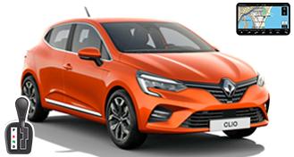 Renault Clio V + NAVI HDAR