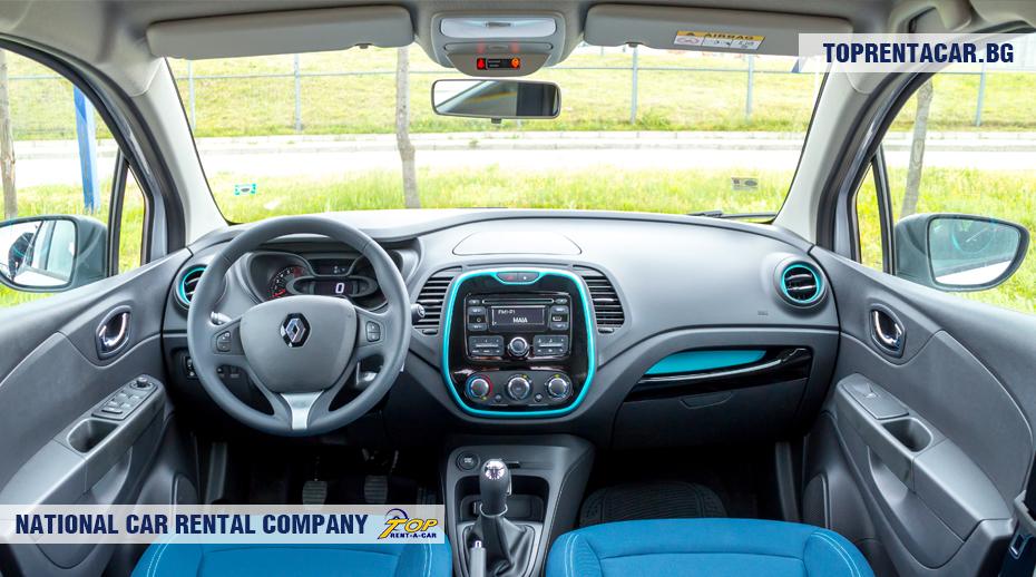 Renault Captur - wewnątrz widoku
