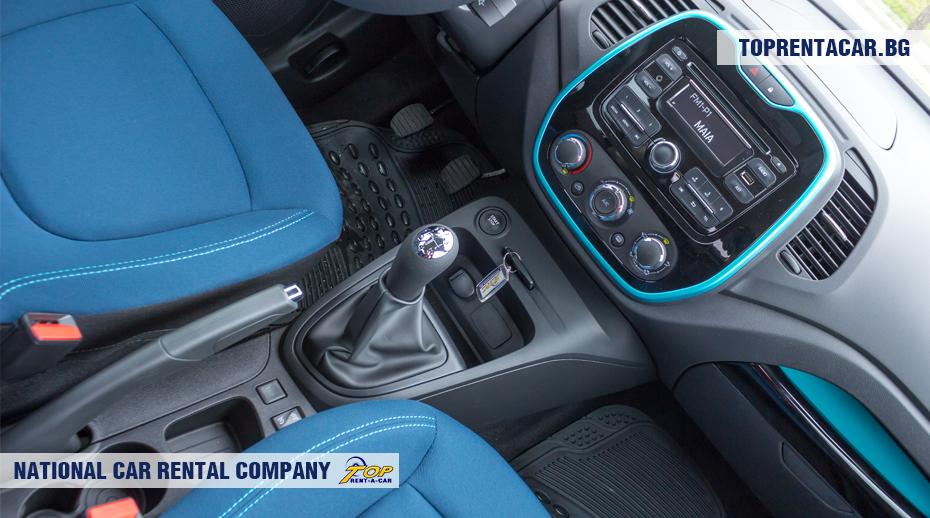 Renault Captur - manualna skrzynia biegów