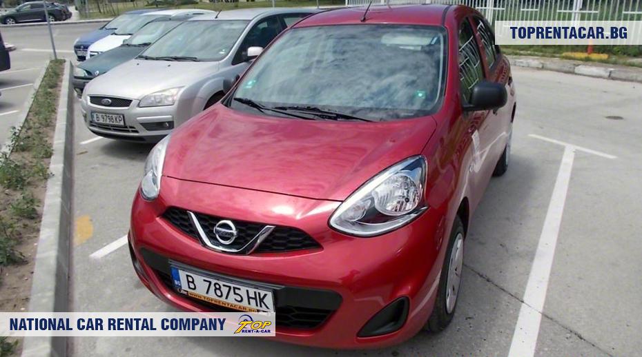 Nissan Micra - widok z przodu