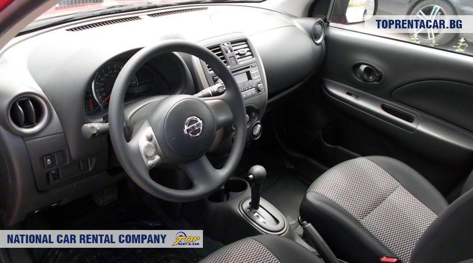 Nissan Micra - wewnątrz widoku