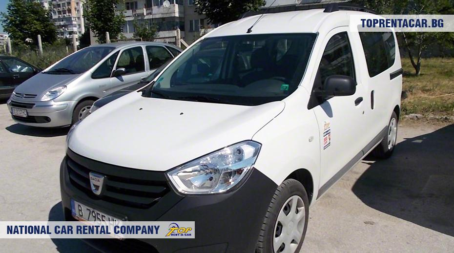 Dacia Dokker - widok z przodu