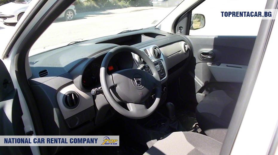 Dacia Dokker - wewnątrz widoku