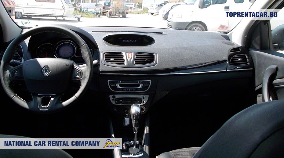 Renault Fluence - wewnątrz widoku