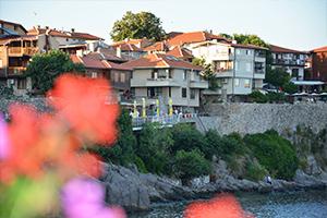Piękne Stare Miasto Nesebyr