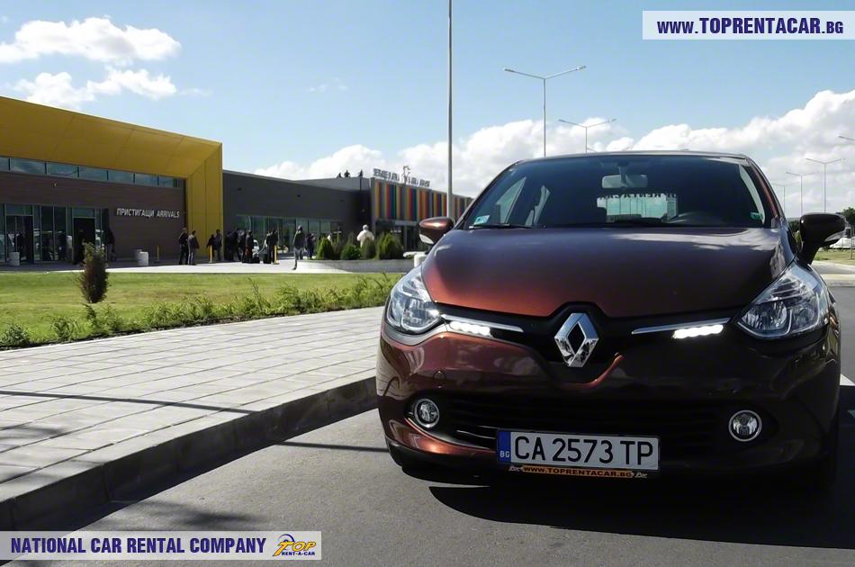 Renault Clio IV lotnisko w Warnie