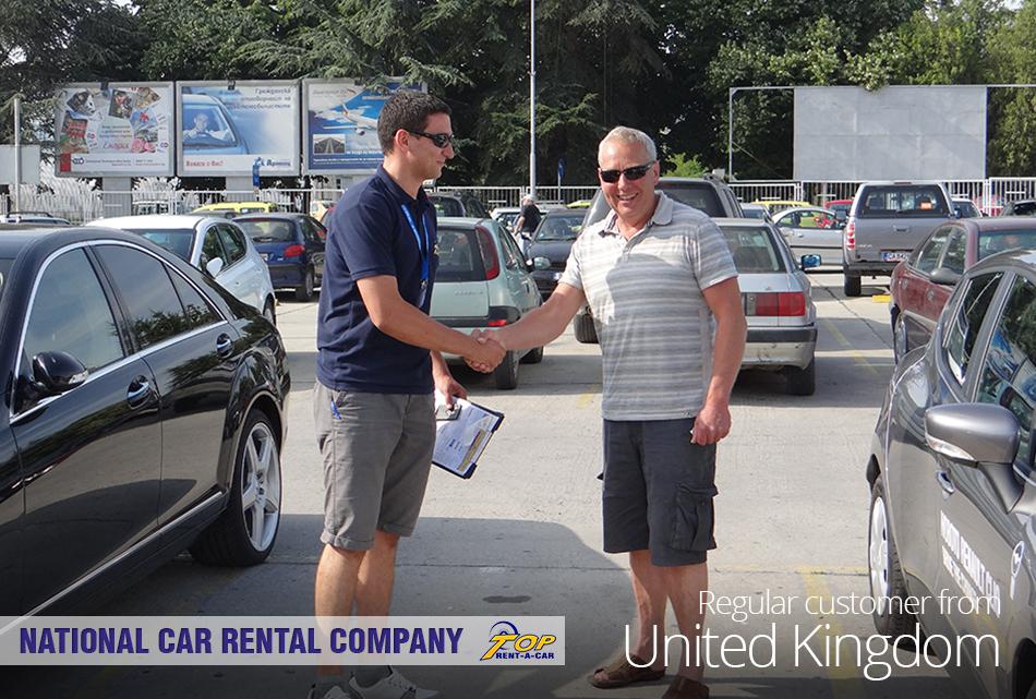 UK customer of Top Rent A Car