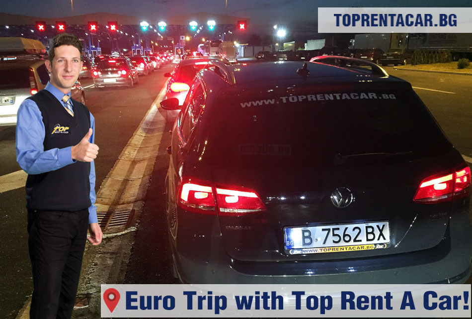 Euro trip with Top Rent A Car