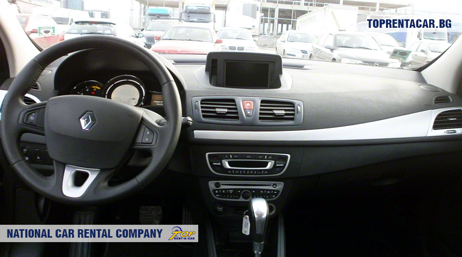 Renault Megane - wewnątrz widoku
