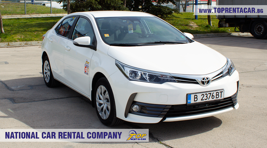 Toyota Corolla 2018 from Top Rent A Car