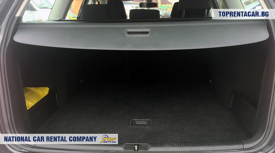 VW Passat estate - trunk