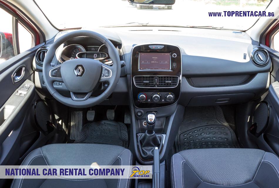 Renault Clio IV TCe - wewnątrz widoku
