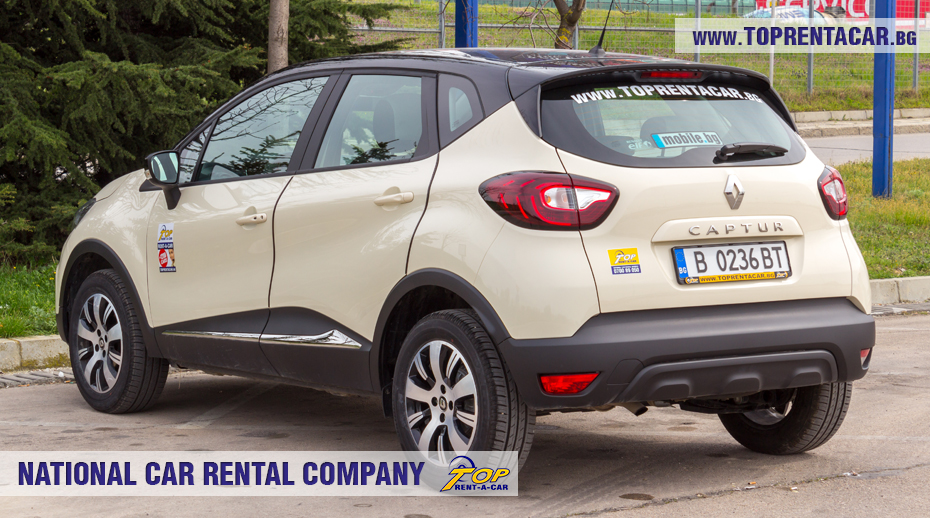 Renault Captur z Top Rent A Car