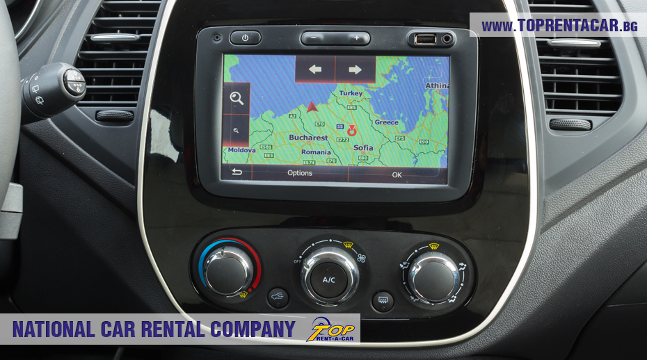 Renault Captur 2018 from Top Rent A Car