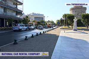 Samochody do wynajęcia w Salonikach