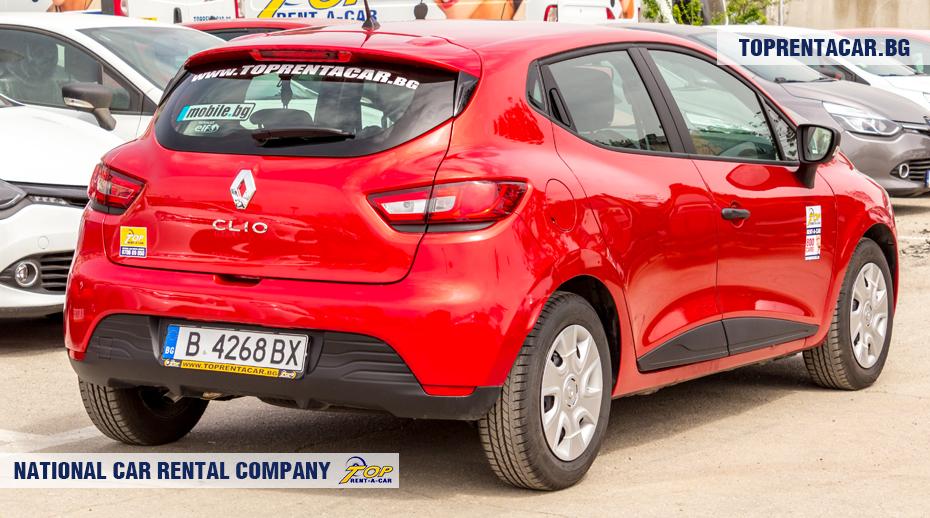 Renault Clio IV TCe - widok z tyłu