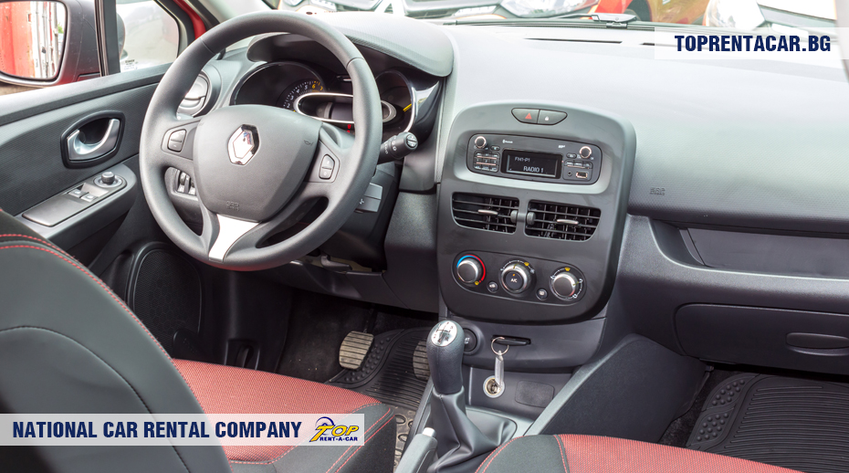 Renault Clio IV - wewnątrz widoku
