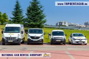 Wynajem samochodow dostawczych w Plowdiwie z Top rent A Car