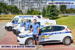 Wynajem samochodow dostawczych w Sofii z Top Rent a Car