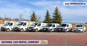 Wynajem samochodow dostawczych w Burgas z Top Rent A Car