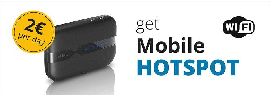 Mobilny hotspot od Top Rent A Car
