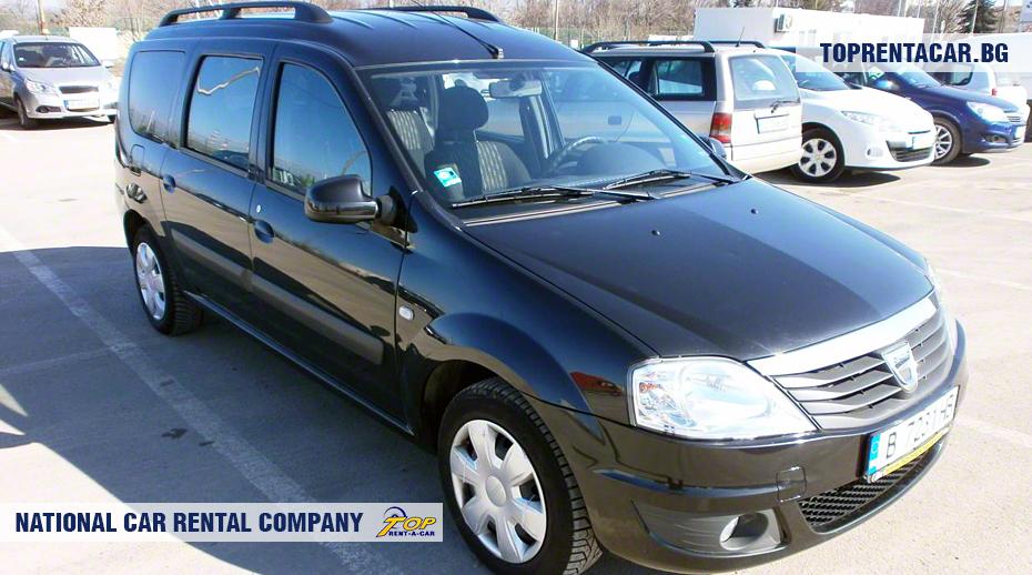 Dacia MCV - widok z przodu