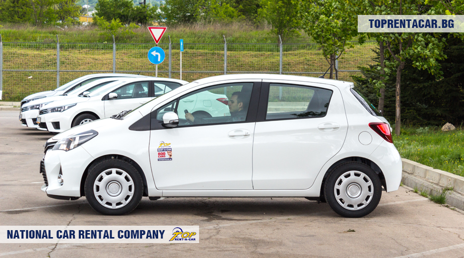 Toyota Yaris z Top Rent A Car