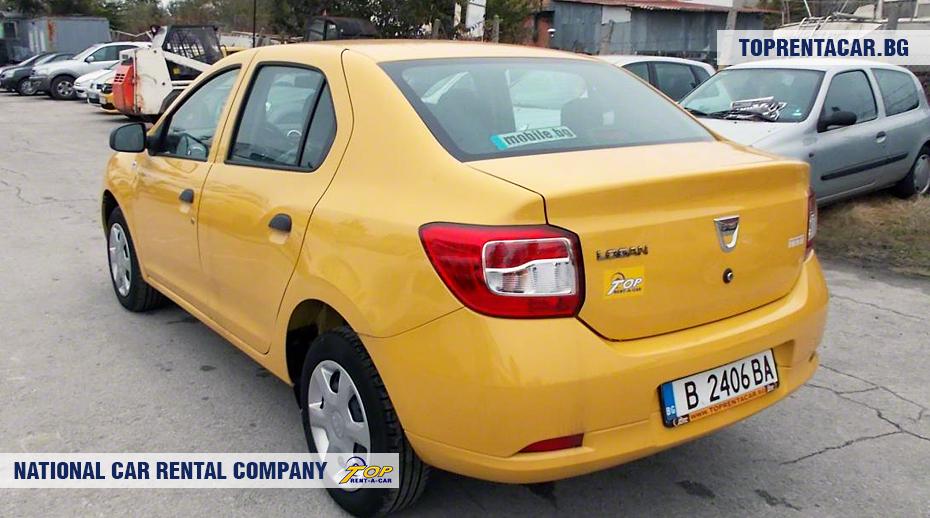 Dacia Logan - widok z tyłu
