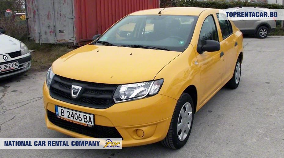 Dacia Logan - widok z przodu