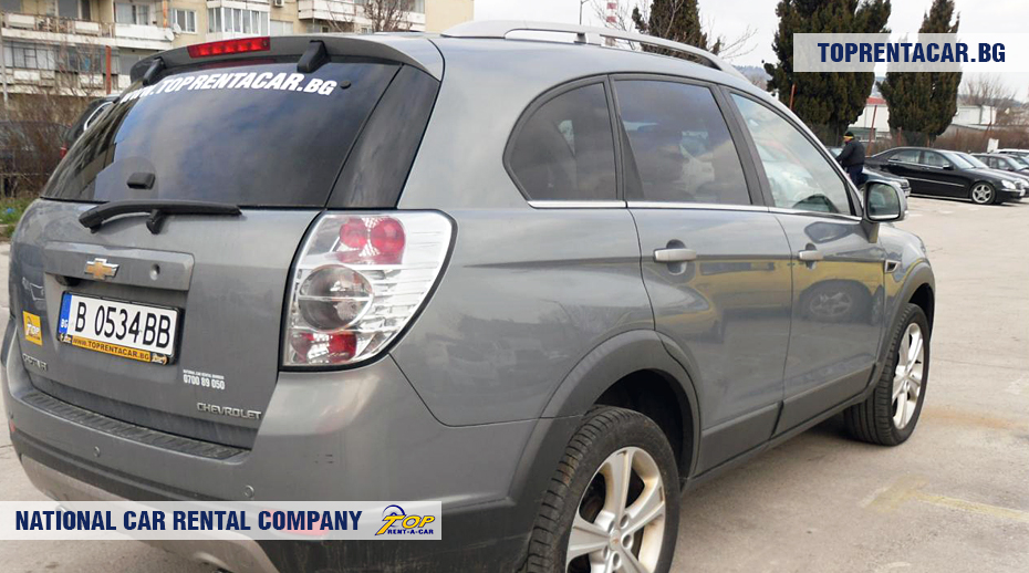 Chevrolet Captiva - widok z tyłu