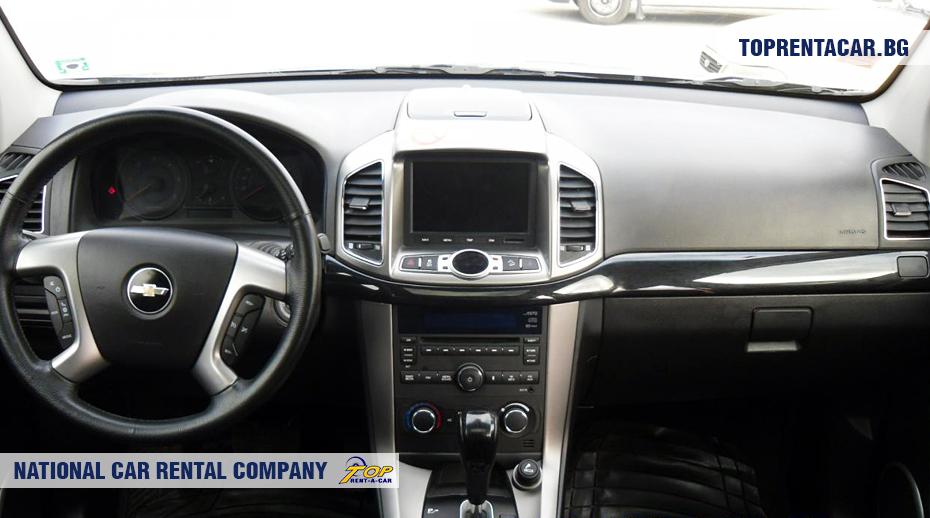 Chevrolet Captiva - wewnątrz widoku