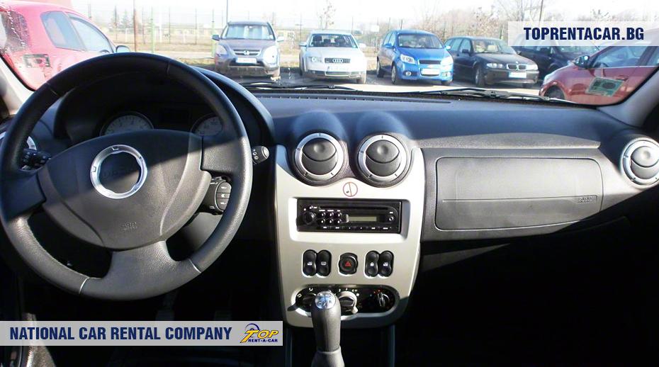 Dacia MCV - wewnątrz widoku