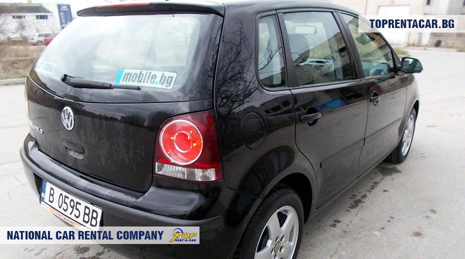 VW Polo - widok z tyłu