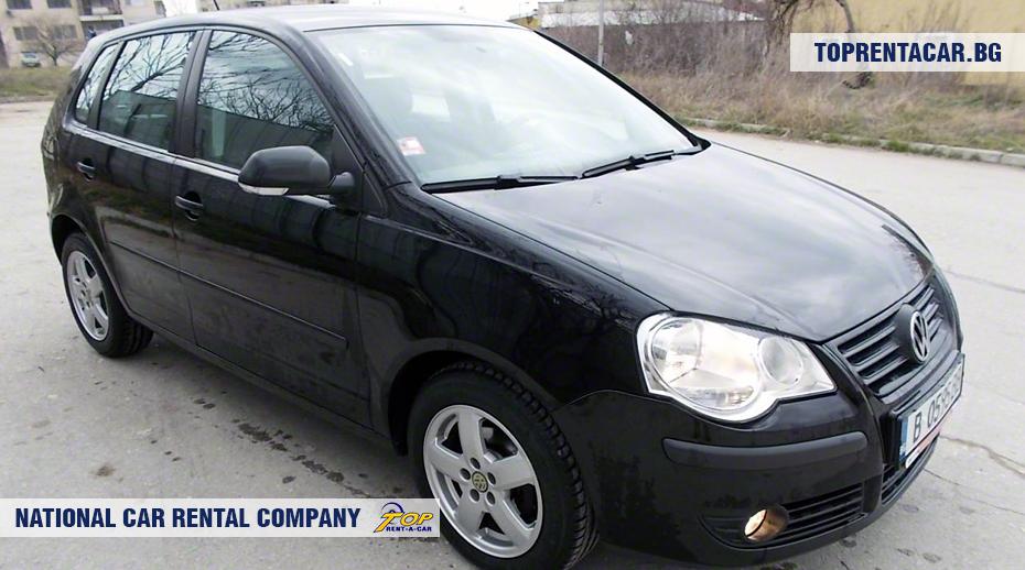 VW Polo - widok z przodu