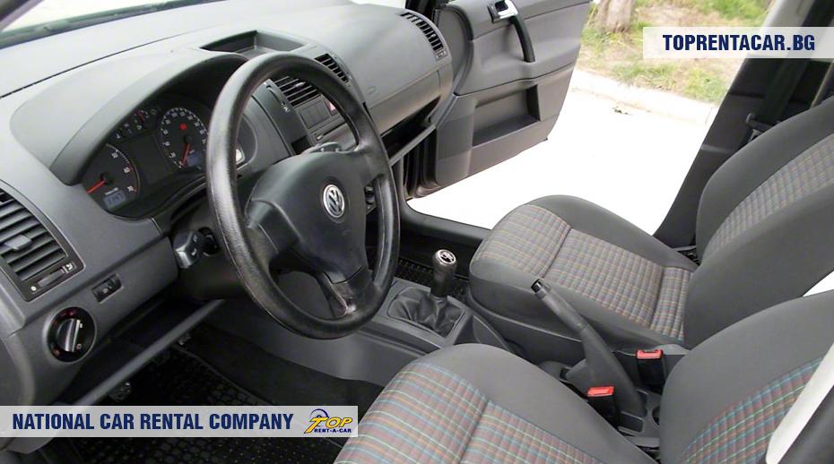 VW Polo - wewnątrz widoku
