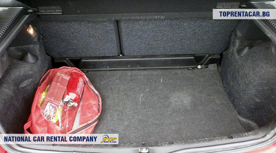 Clio Campus - widok z bagażnika