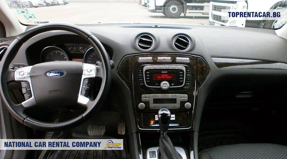 Ford Mondeo - wewnątrz widoku