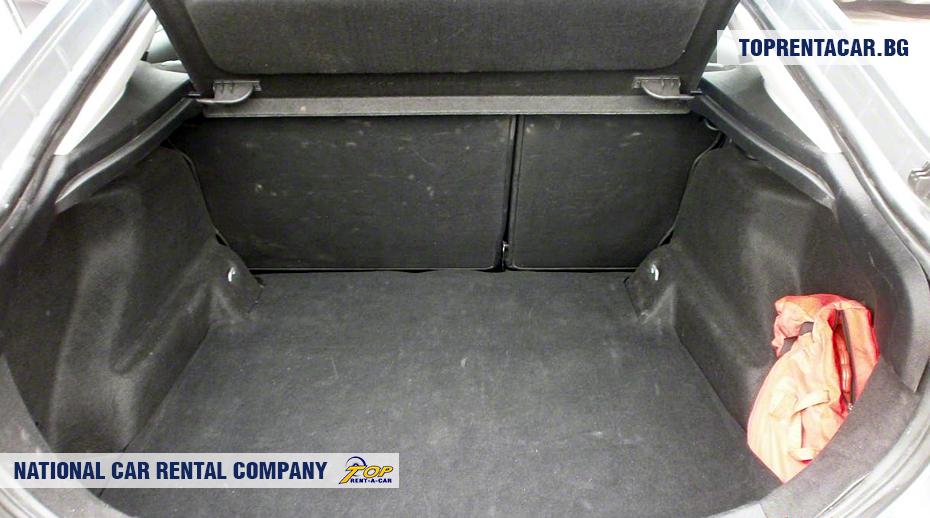 Ford Mondeo - widok z bagażnika