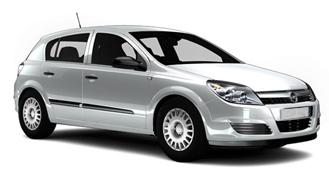 Opel Astra rental