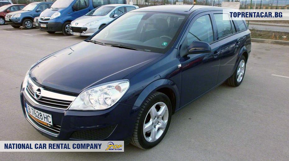 Opel Astra - widok z przodu