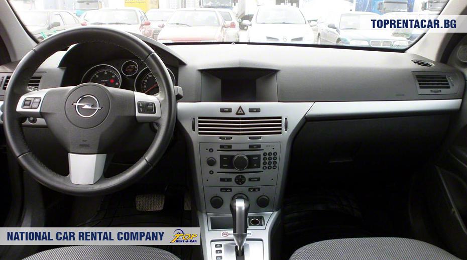 Opel Astra - wewnątrz widoku