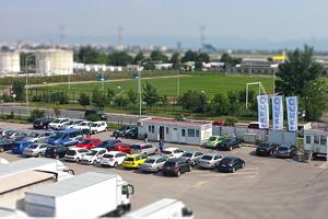 Samochodow z lotniska Sofia